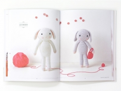 "French book "" Les doudous d'Agathe Rose au crochet !"""