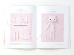 """French book """" Les doudous d'Agathe Rose au crochet !"""""""