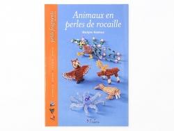 """French book """" Animaux en perles de rocaille"""""""