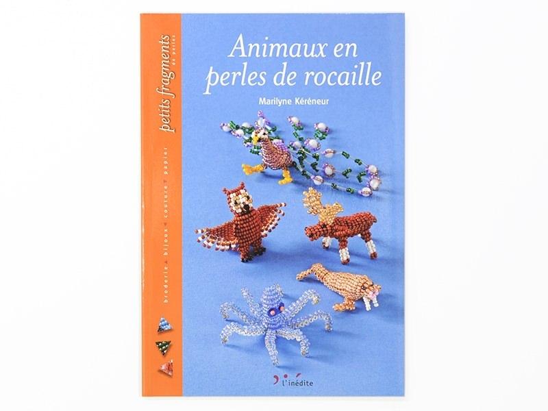 Livre Animaux en perles de rocaille L'inédite - 1