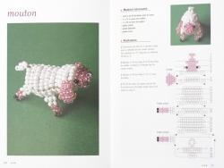 Livre Animaux en perles de rocaille L'inédite - 3