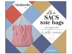 "French book "" Les sacs tote bags by la griffe miranda"""