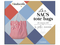 Livre Les sacs tote bags by la griffe miranda