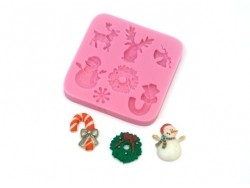 Acheter Moule en silicone - Noël - 11,90€ en ligne sur La Petite Epicerie - Loisirs créatifs