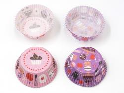 60 Caissettes à cupcakes - Pâtisseries