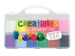 "Radiergummi-Set - zur Anfertigung eigener Radiergummis - ""Creatibles"""