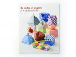 Livre 30 boîtes en origami - À moduler à l'infini!