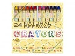 Coffret 24 pastels à la cire d'abeille Ooly - 1