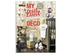 "French book "" My Little Deco - Kit d'objets en papier"""