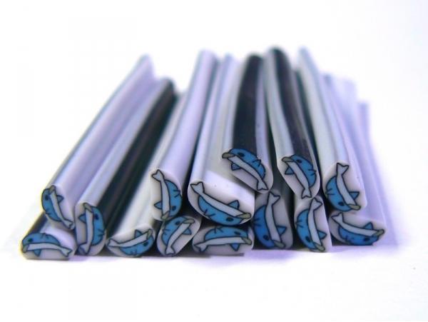 Acheter Cane dauphin en pâte fimo - à découper en tranches - 0,99€ en ligne sur La Petite Epicerie - 100% Loisirs créatifs