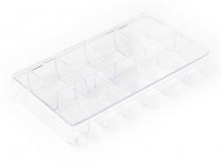 Aufbewahrungsbox mit 11 Fächern - 20 cm