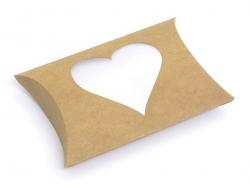 Pochette Cadeau Coeur - kraft Kado Design - 1