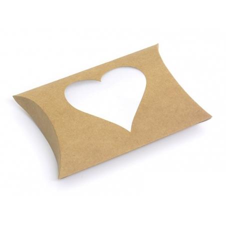 Acheter Pochette Cadeau Coeur - kraft - 1,29€ en ligne sur La Petite Epicerie - 100% Loisirs créatifs