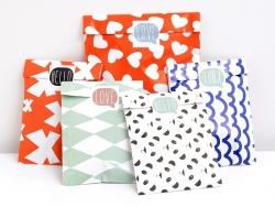 3 étiquettes autocollantes LOVE - Noir Kado Design - 3