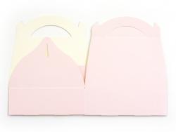 Boîte cadeau rose pour gâteaux