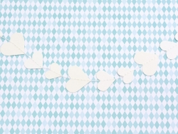 Decorative paper garland - Hearts