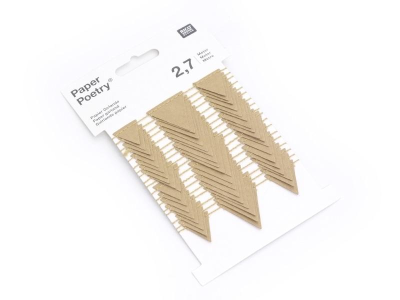 Guirlande en papier à décorer - Triangles