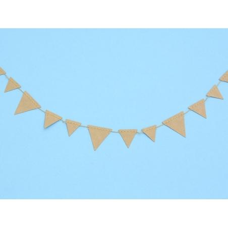 Decorative paper garland - Triangles