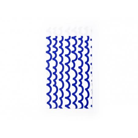 1 pochette cadeau - Vagues bleues Kado Design - 1