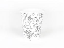 8 gobelets en papier à colorier -  My Little Day x OMY