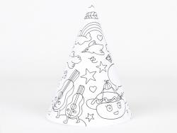 8 chapeaux pointus à colorier - My Little Day x OMY