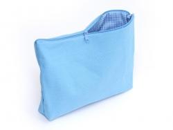Trousse à soufflets bleue - L