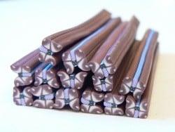 Acheter Cane papillon marron - en pâte fimo - 0,49€ en ligne sur La Petite Epicerie - Loisirs créatifs