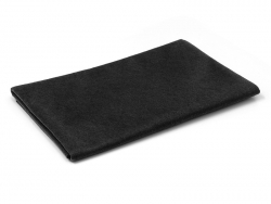 Große Filzplatte - schwarz