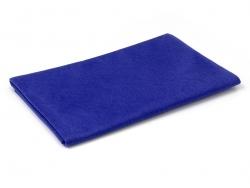 Große Filzplatte - dunkelblau