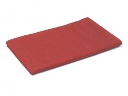 Grande plaque de feutrine - Rouge