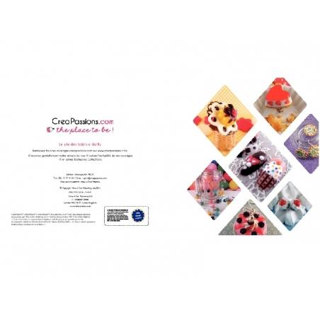 Livre créations gourmandes en pâte polymère - 2e édition