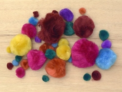 Pompoms - Fashion colours