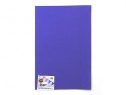 1 Moosgummiplatte - marineblau