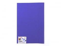 1 plaque de mousse en caoutchouc - bleu marine Rico Design - 1