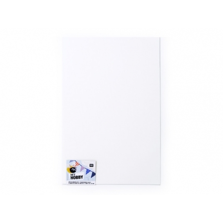 Acheter 1 plaque de mousse en caoutchouc - Blanc - 0,79€ en ligne sur La Petite Epicerie - Loisirs créatifs