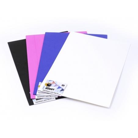 1 foam sheet - White
