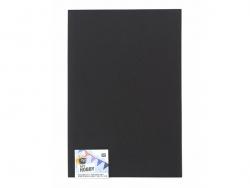 1 Moosgummiplatte - schwarz