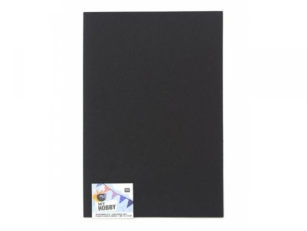 Acheter 1 plaque de mousse en caoutchouc - Noir - 0,79€ en ligne sur La Petite Epicerie - Loisirs créatifs