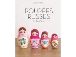 """Französisches Buch """" Poupées Russes en feutrine"""""""