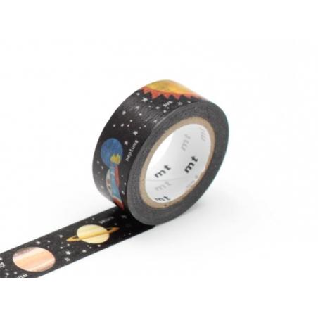 Masking Tape Kids (with a pattern) - Planets Masking Tape - 2