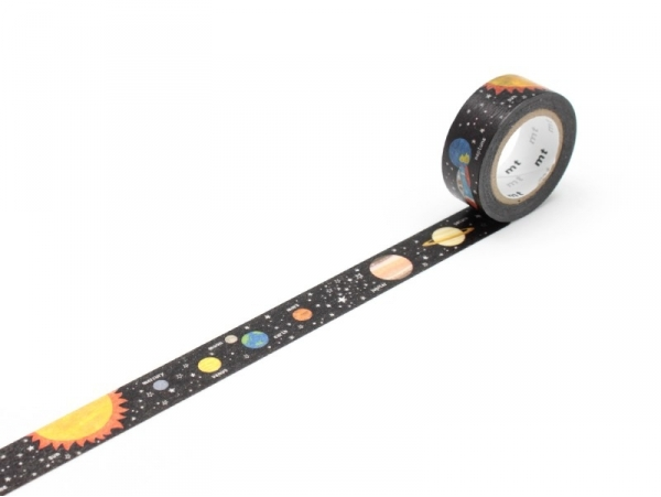 Masking Tape Kids (with a pattern) - Planets Masking Tape - 1