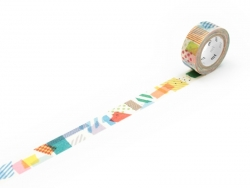 Masking Tape Kids (with a pattern) - Collage Masking Tape - 1