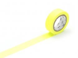 Masking tape uni - jaune fluo