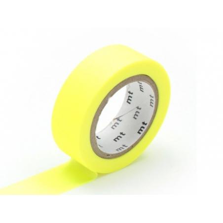 Acheter Masking tape uni - jaune fluo - 2,90€ en ligne sur La Petite Epicerie - Loisirs créatifs
