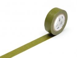 Masking tape uni - Vert olive Masking Tape - 1