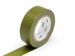 Masking tape uni - Vert olive