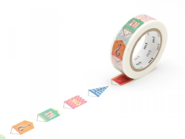 Masking tape with a pattern - Bunting Masking Tape - 1