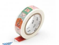 Masking tape with a pattern - Bunting Masking Tape - 2