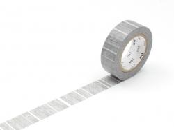 Masking tape motif - Fines rayures noires Masking Tape - 1