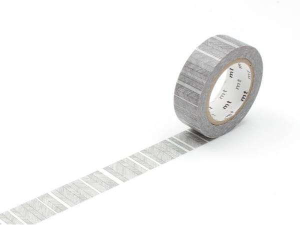 Masking tape with a pattern - Fine black stripes Masking Tape - 1